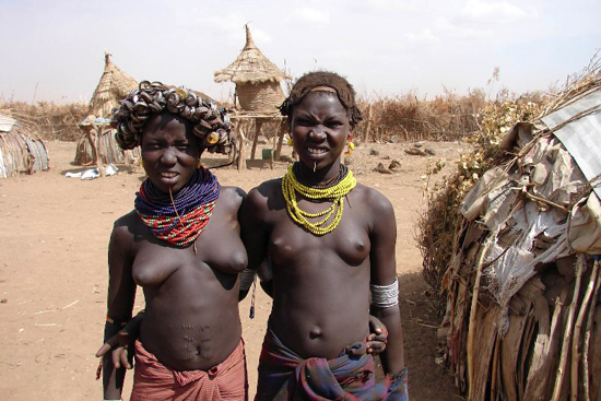 Есть ли комплексы у африканок