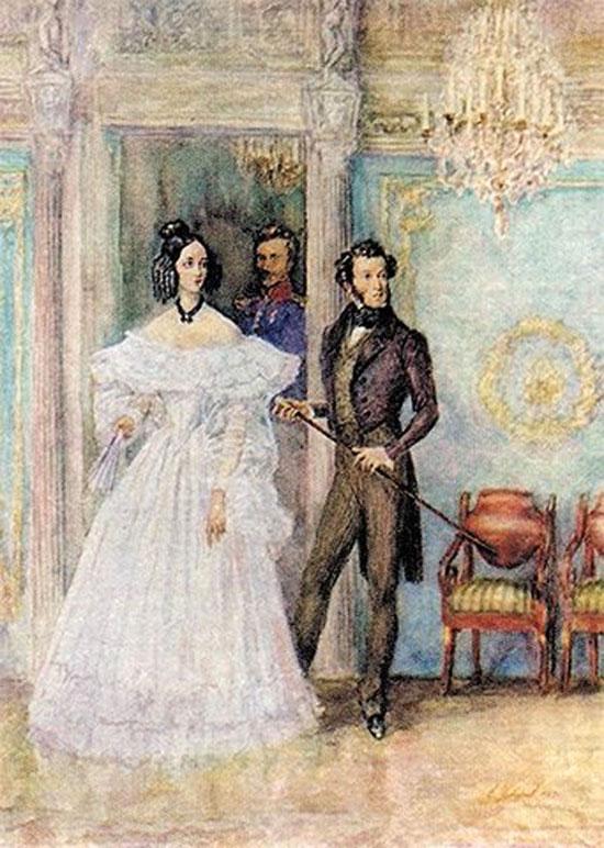 Картинка интимная жизнь Пушкина