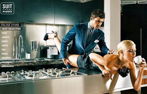 Секс на кухне фото
