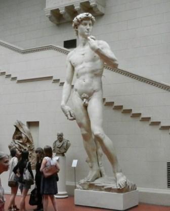 Скульптура Давида в Эрмитаже