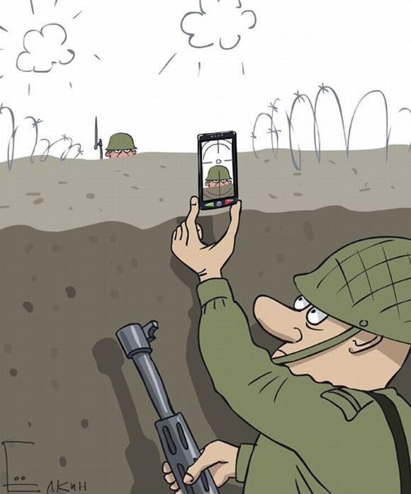 современная-война-окопы-солдаты-телефона-93784